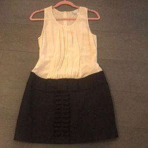 Silk and wool dress